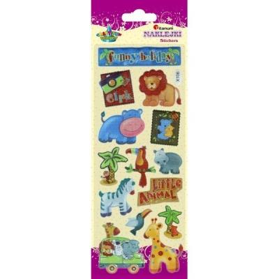 Naklejki do dekoracji małe zwierzęta (359370)