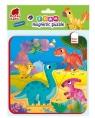 Piankowe puzzle magnetyczne - Dinozaury (RK5010-07)