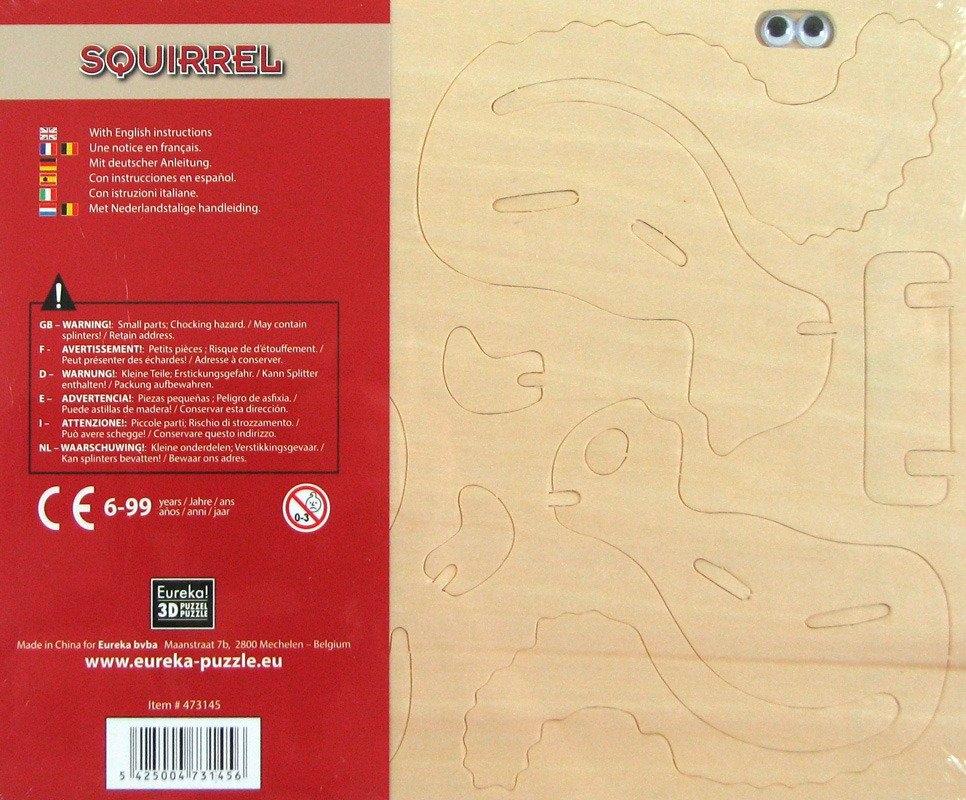 Łamigłówka drewniana Gepetto - Wiewiórka (105671)