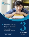 PTE General Level 3 (B2) no key with Student's...