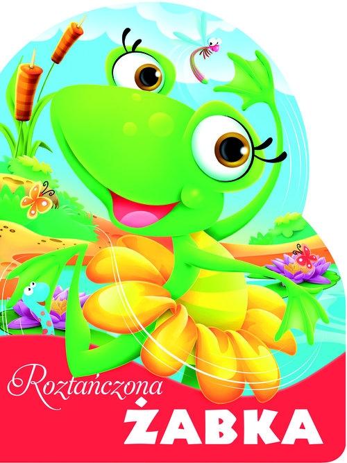Roztańczona żabka. Wykrojnik (Uszkodzona okładka) Kozłowska Urszula
