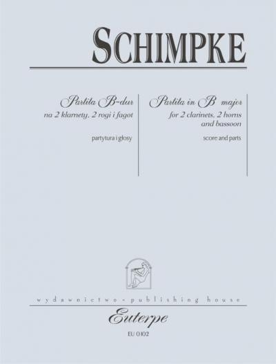 Partita B-dur na 2 klarnety, 2 rogi i fagot Christoph Schimpke