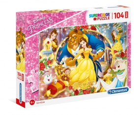 Puzzle 104 Super Kolor The Beauty and the Beast