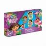 Puzzle dla maluszków Dora poznaje świat (0845)