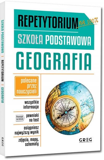 Repetytorium - szkoła podstawowa. Geografia Krystyna Duplaga