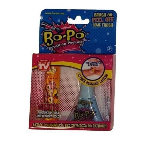 BOPO Lakier pachnący + błyszczyk zmieniający kolor (BOP8145245)