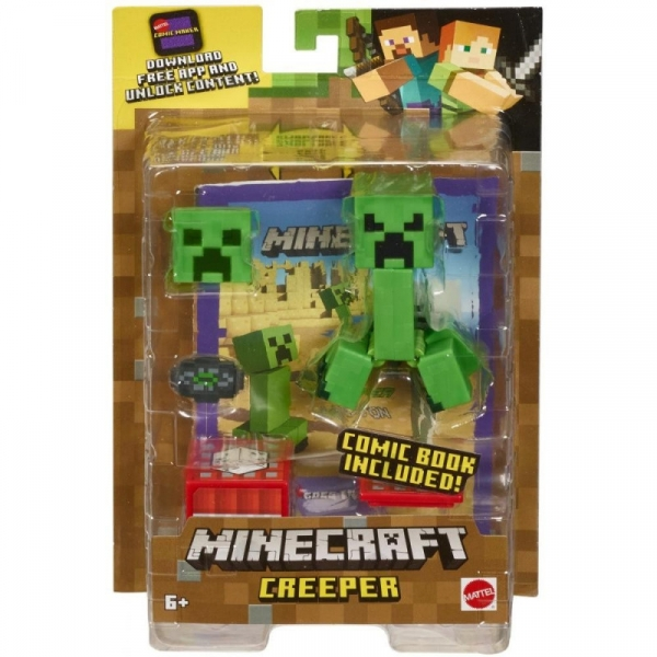 Figurine Minecraft Comic Maker Creeper (GCC11/GCC14)