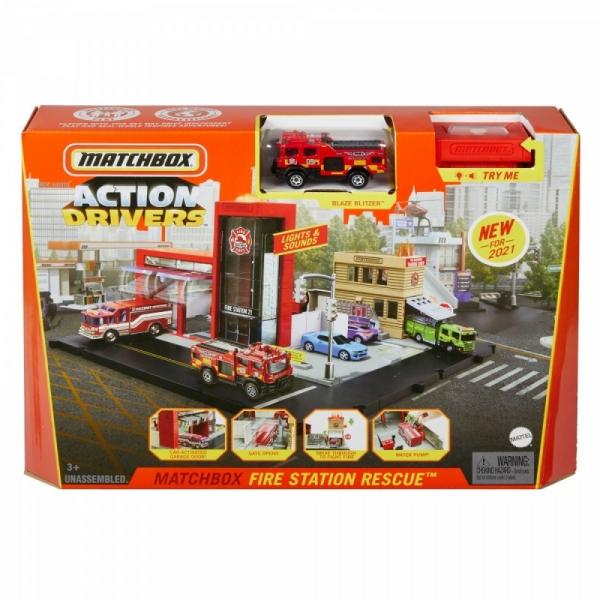 Matchbox Action Drivers: Prawdziwe przygody, Straż Pożarna (HBD74/HBD76)
