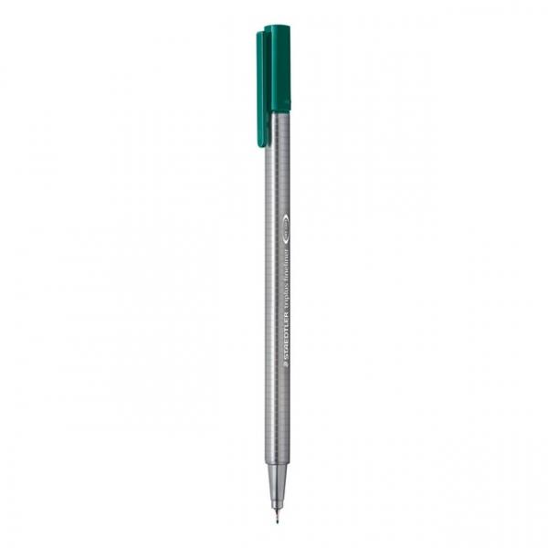 Cienkopis Triplus Fineliner 0,3 mm - zieleń morska (334-38)