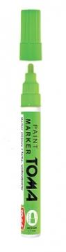 Marker olejny 2.5 mm - zielony neon TO-44046