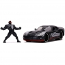 Pojazd i figurka Marvel Venom 2008 Dodge Viper 1:24 (253225015)