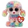 Maskotka Beanie Boos Rainbow - Wielobarwny Pudel 24 cm (37145)