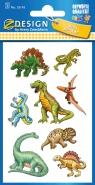 Naklejki papierowe - Dinozaury (53145)