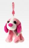 Breloczek różowy pies (02508)