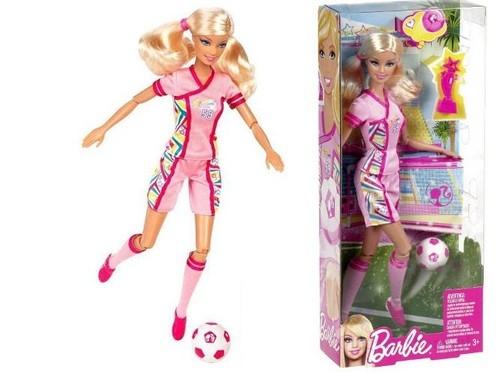 Barbie I can be Sportsmenka piłka nożna