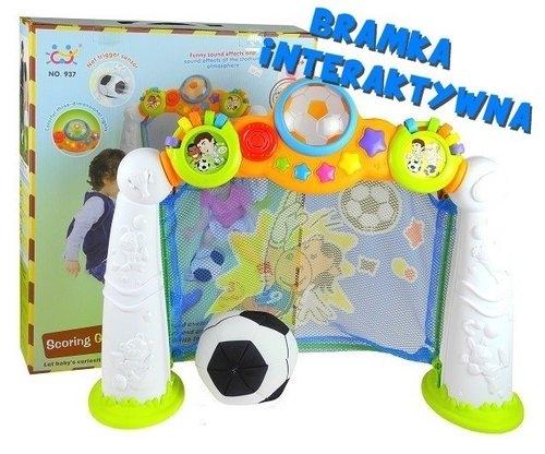 Interaktywna bramka piłkarska + piłka