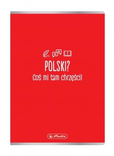 Zeszyt A5/60k linia - J. Polski (9577453)