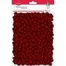 Kulki styropianowe brokatowe, czerwone (439974)