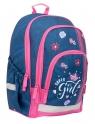 Hama, plecak szkolny - Jeans Girl (183852)