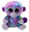 Maskotka Beanie Boos Zuri - kolorowa małpka 15 cm (36845)