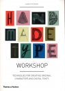 Handmade Type Workshop Rivers Charlotte