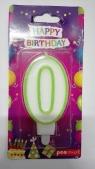 Świeczka urodzinowa - 0 (PTN-0)