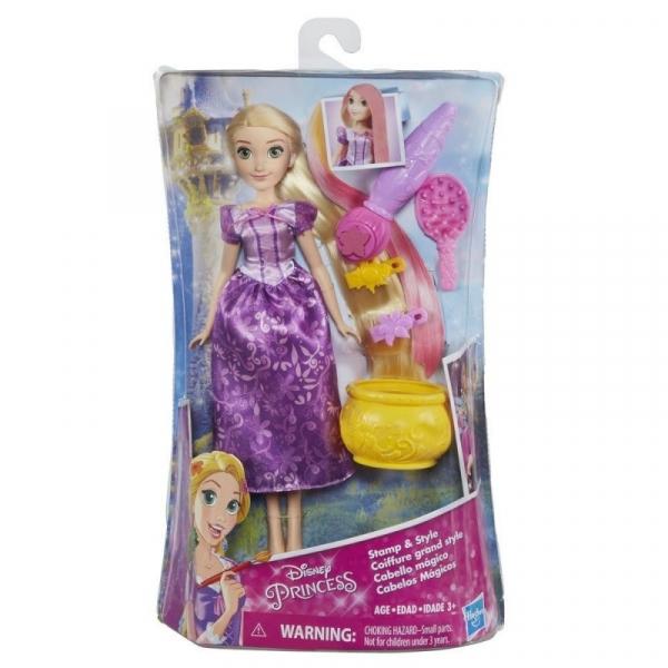 Disney Princess Roszpunka zabawa włosami (E0064)