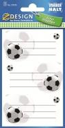 Naklejki na książki i zeszyty - Piłka Nożna (59245)