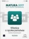 Wiedza o społeczeństwie Matura 2017 Testy i arkusze z odpowiedziami Zakres Tulin Cezary, Kubicka Beata, Smuda Marek
