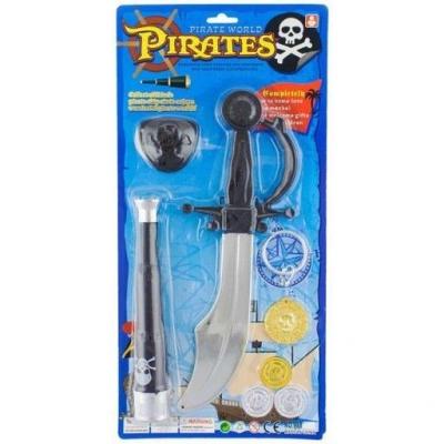 Miecz Godan zestaw pirata z lunetą (ZPLM-PT)