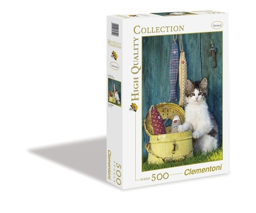 Puzzle 500 High Quality Collection The Cat (30345)