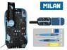 Multipiórnik Milan owalny mini z 1 piórnikiem Connection