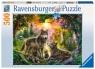 Puzzle 500: Wilki Zachód Słońca (147458) Wiek: 10+