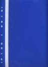 Skoroszyt z perforacją A4 Evo niebieski