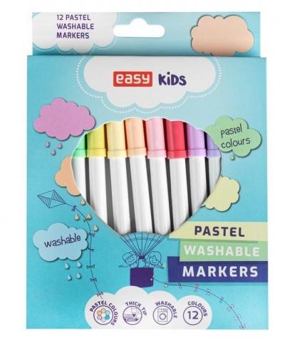 Pisaki spieralne 12 kolorów Pastel EASY