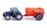 Traktor z jednoosiową cysterną
