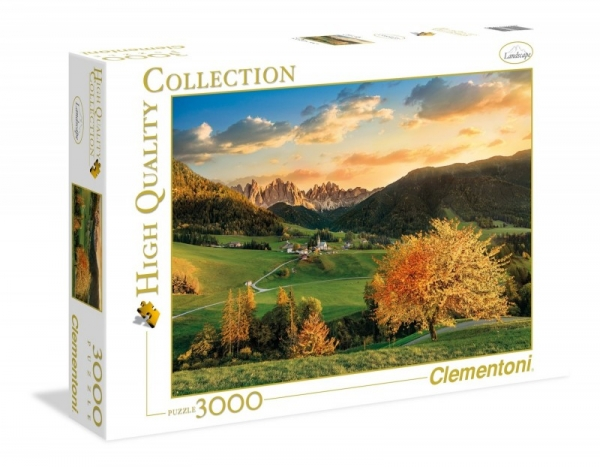 Puzzle 3000 High Quality Collection The Alps (33545)