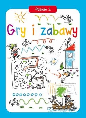 Gry i zabawy Poziom 1 - Gabriel Cortina (ilustr.) - książka