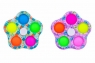 Norimpex, Pop It, zabawka sensoryczna, antystresowa, Spiner mozaika, 5 ramion (NO-1005345)