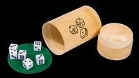 Gra w Kości 6 kostek bambus