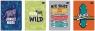 Zeszyt A5/32K kolorowa linia UV TrendsBoys (10szt)