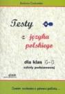 Testy z języka polskiego dla klas 5-6 szkoły podstawowej