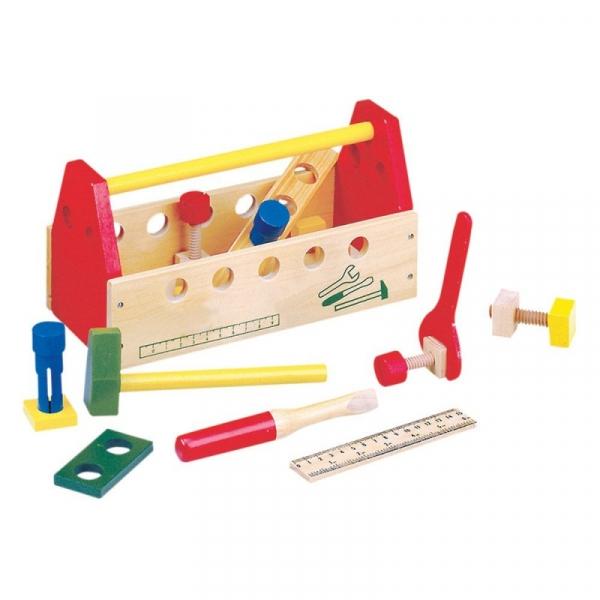 Drewniana skrzynka z narzędziami (82146)