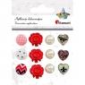 Aplikacje dekoracyjne, 12 szt. (390747)