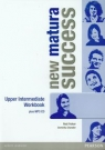 New Matura Success Upper-Intermediate Workbook with MP3 Fricker Rod, Chandler Dominika