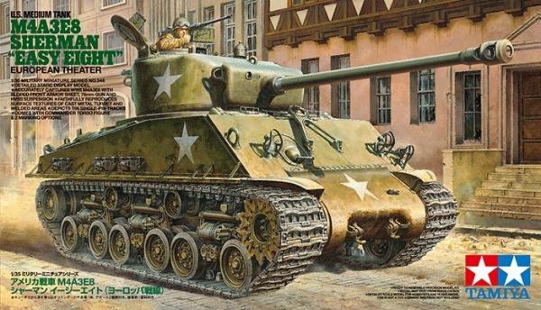 US Tank M4A3E8 Sherman Easy Eight (35346)