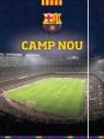 Teczka z Gumką Fc Barcelona