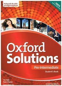 Oxford Solutions Pre-Intermediate. Podręcznik Falla Tim, Davies Paul A.