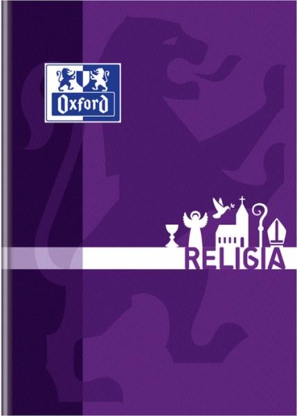 Brulion Oxford A5/80k, kratka z marginesem - Religia (400150857)