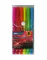 Długopis 6 kolorów fluo premium (607)